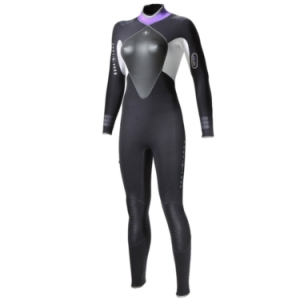 Aqualung and Bare Wetsuit