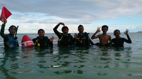 dive course @ Morotai