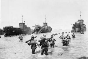 American Troop Landing - 1944