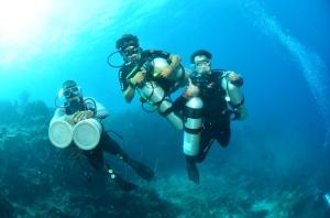 Sidemount Diving in Morotai